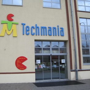 3D písmo - Techmania
