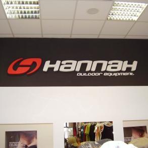 3D logo - HANNAH