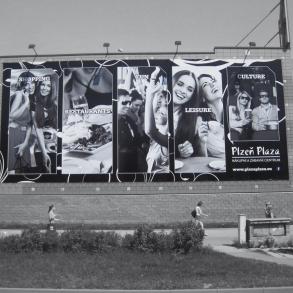 Plachta - Plaza Plzeň