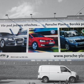 Plachta - Porsche Plzeň