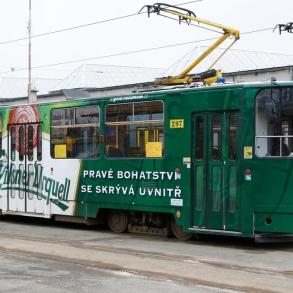 Tramvaj Pilsner Urquel