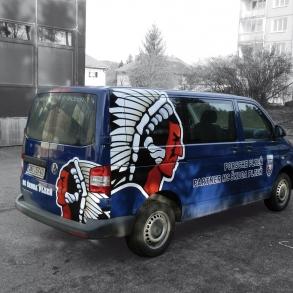 Polep auta - HC PLzeň