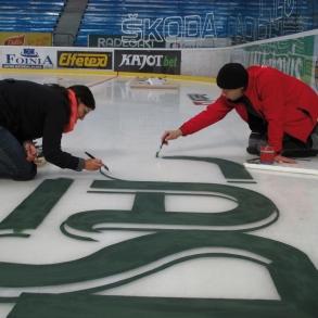 Malování ledu