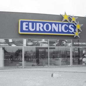 Světelná reklama - EURONICS