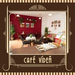 vytvoření nového designu pro Cafe Vídeň