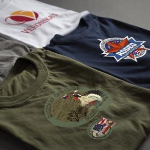 reklamní a firemní trička