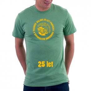 tričko 25 let restaurace na koupališti
