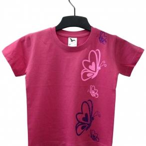 tričko s potiskem glitrovou fólií