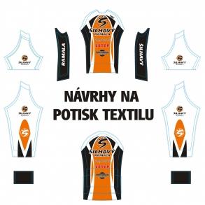 Návrhy na potisk textilu