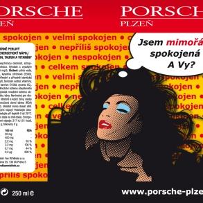 plakát pro Porsche Plzeň