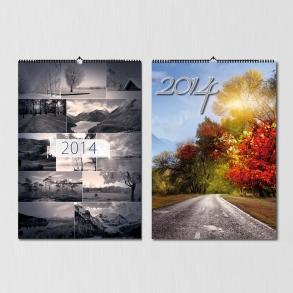 tisk a vazba kalendářů