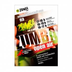 plakát Zumba