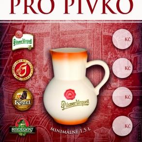 atypický plakát pro Plzeňský Prazdroj 2