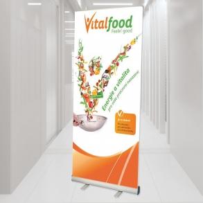 roletový stojan Vital food