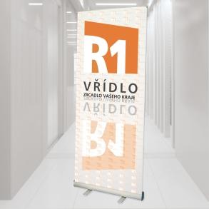 roletový stojan pro rádio R1