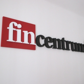 3D logo Fincentrum