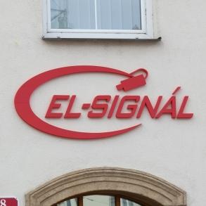 3D logo na fasádu - El-Signál