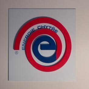 3D logo Energie chytře