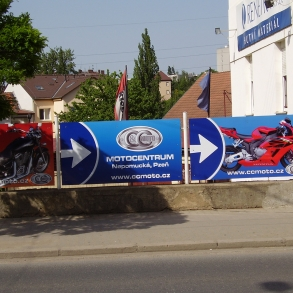 navigace k motocentru CC moto