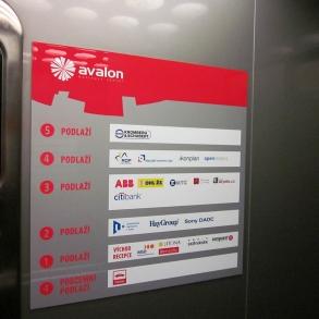 navigační systém Avalon Business Center