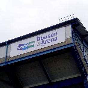 označení - Doosan Arena