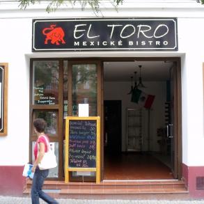 označení provozovny El Toro mexické bistro