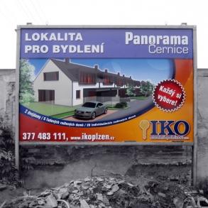 billboard pro IKO Plzeň