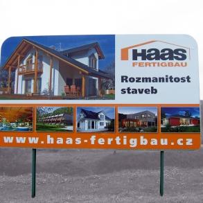 eurobillboard - fólie - Haas Fertigbau
