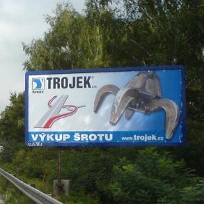 eurobillboard - plachta - Trojek