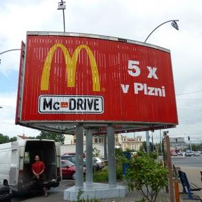 billboard - otočné lamely II