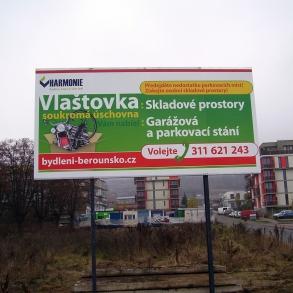 billboard - fólie - bydlení Berounka