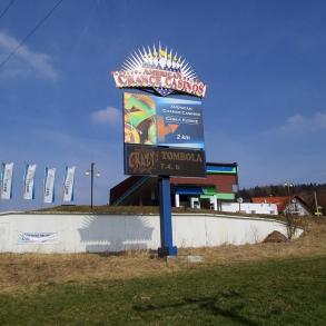 billboard - plocha na totemu
