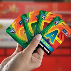plastové karty 10