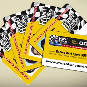 závodní licence Fernet Stock Kart Aréna