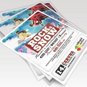 tisk plakátů rock & snow
