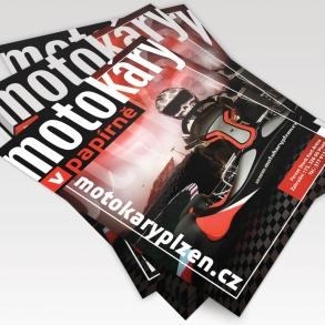 tisk plakátů pro Fernet Stock Kart Arena