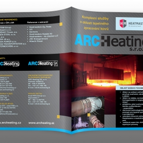 tisk prospektu pro ARC Heating