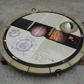 podlahová grafika pro Techmania Science Center