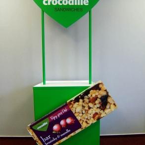stánek crocodille