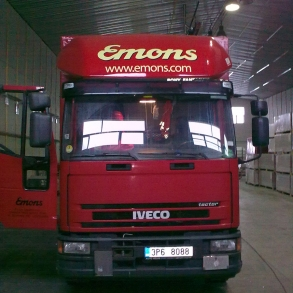 polep vozů Iveco - Emons
