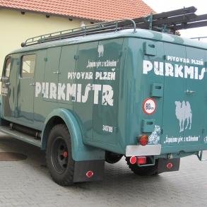 polep Pragovky - Purkmistr