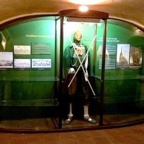 polep vitrín pro Pivovarské muzeum