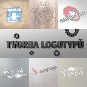 návrhy logotypů