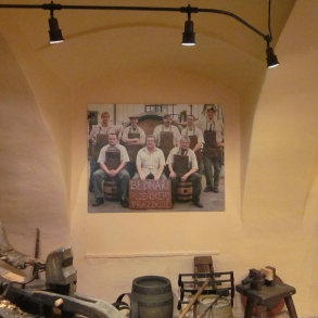 výroba a instalace obrazů pro pivovarské muzeum