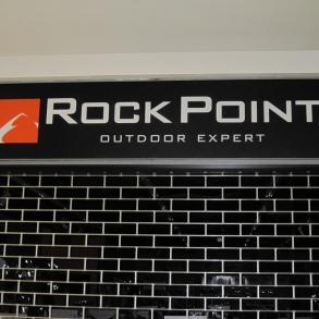 světelná reklama Rock Point Liberec