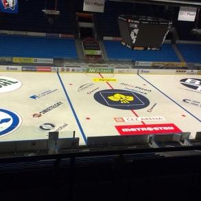 Malování ledové plochy - stadion HC Škoda Plzeň