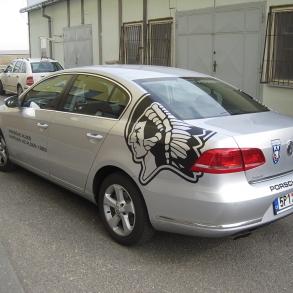 polep vozového parku HC Škoda Plzeň