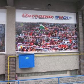 branding fanshopu FC Viktoria Plzeň