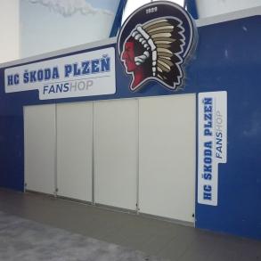 rebrand Fanshopu HC Škoda Plzeň