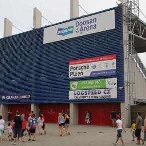 Označení stadionu FCVP